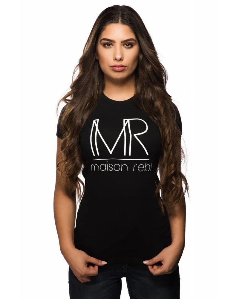 Maison Rebl Maison Rebl Brand T-Shirt - Black