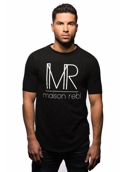 Maison Rebl Brand T-Shirt - Black