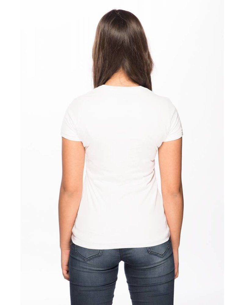 Maison Rebl Maison Rebl Brand T-Shirt - White