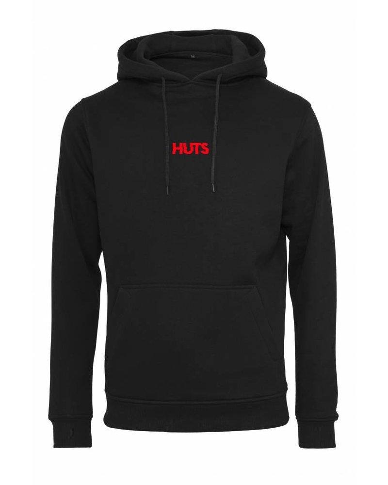 Broozz Streetwear Broozz Streetwear HUTS - Hoodie - Logo Rood