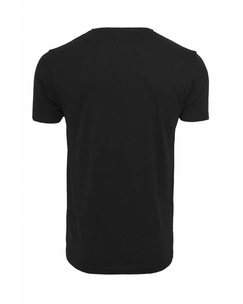 Broozz Streetwear Broozz Streetwear HUTS - T-Shirt - Logo Neon Geel