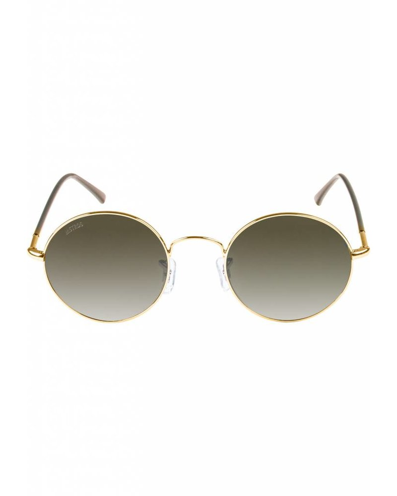 Broozz Streetwear Sunglasses Flower - Gold/Brown