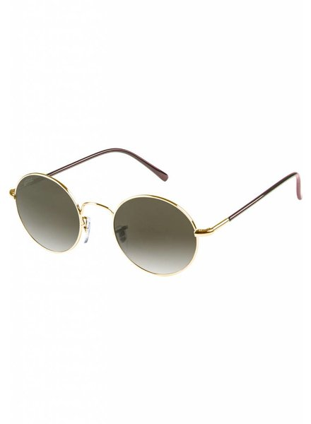 Broozz Streetwear Sunglasses Flower - Gold/Brown