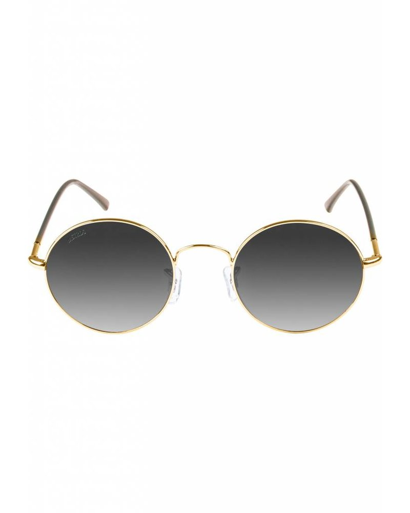 Broozz Streetwear Sunglasses Flower - Gold/Grey