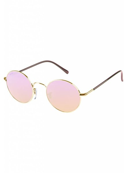 Broozz Streetwear Sunglasses Flower - Gold/Rose