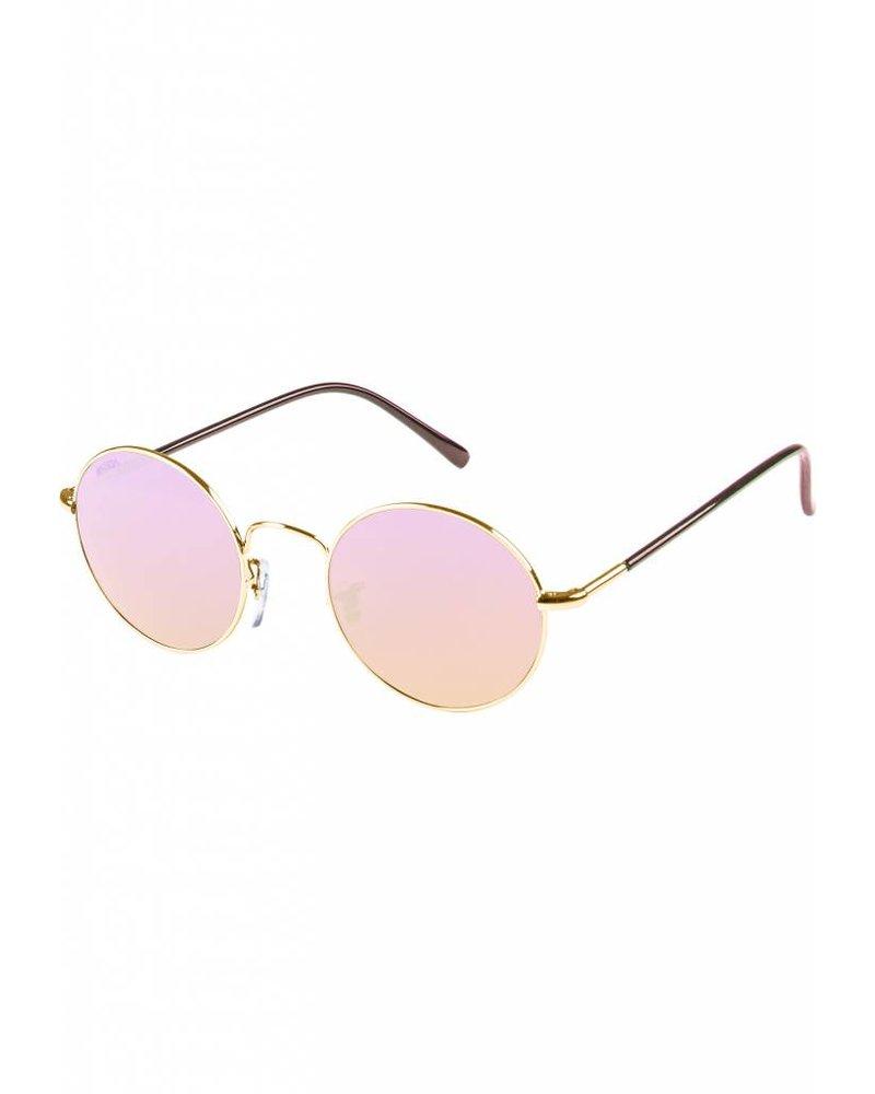 Broozz Streetwear Sunglasses Flower - Gold/Rose
