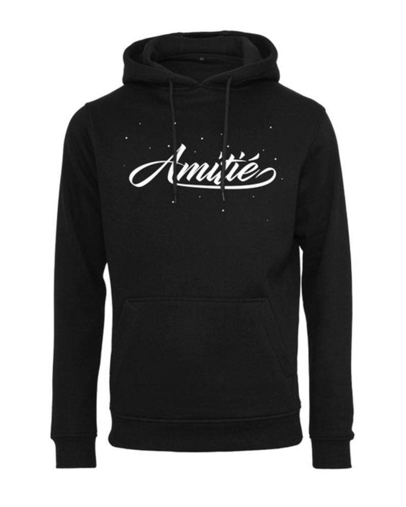 Amitié Amitié - Brand Hoodie - Zwart