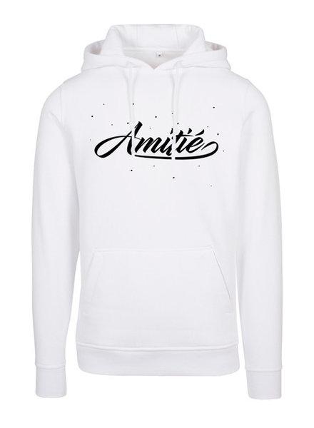 Amitié Amitié - Brand Hoodie - Wit