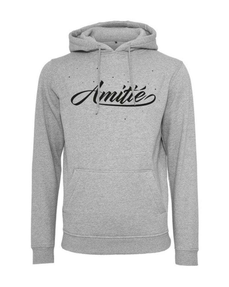 Amitié Amitié - Brand Hoodie - Grijs
