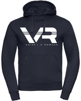 Vaiks L & Rowses Vaiks L & Rowses-Brand Women Hoodie-Navy Blue-wit
