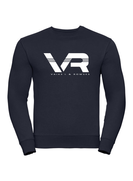 Vaiks L & Rowses Vaiks L & Rowses-Brand Men Sweater-Navy Blue-wit