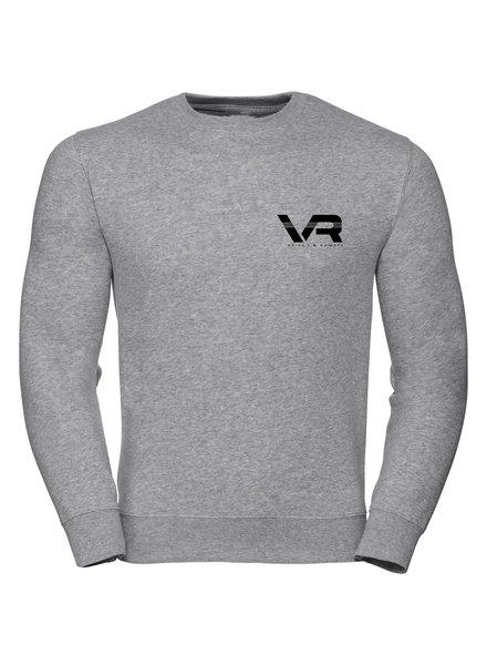Vaiks L & Rowses Vaiks L & Rowses-Brand Men Sweater-Grijs-Zwart-Klein