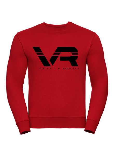 Vaiks L & Rowses Vaiks L & Rowses-Brand Men Sweater-Rood-Zwart