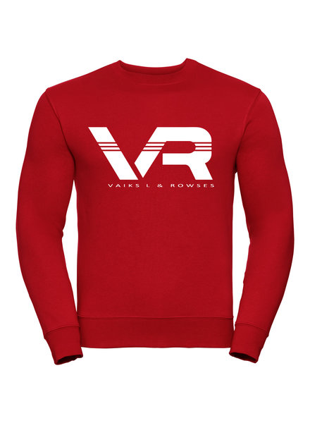 Vaiks L & Rowses Vaiks L & Rowses-Brand Men Sweater-Rood-Wit