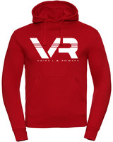Vaiks L & Rowses Vaiks L & Rowses-Brand Women Hoodie-Rood-Wit