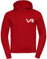 Vaiks L & Rowses Vaiks L & Rowses-Brand Women Hoodie-Rood-Wit Klein