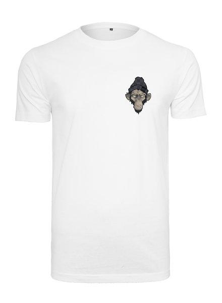 Broozz Streetwear MONKEY BS - T-Shirt-White