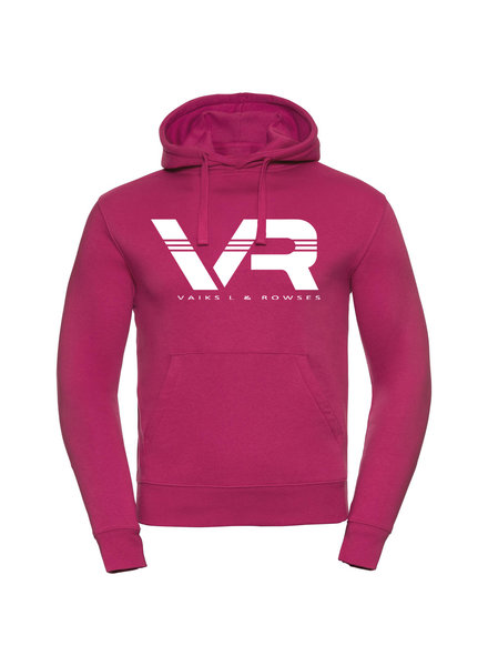 Vaiks L & Rowses Vaiks L & Rowses-Brand Women Hoodie-Fuchsia-Wit