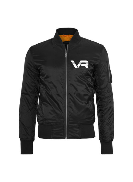 Vaiks L & Rowses Vaiks L & Rowses-Brand Men Bomber-Zwart-Wit-Klein