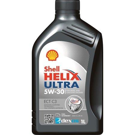Shell Helix Ultra ECT C3 5W-30 - Motorolie