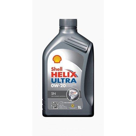 Shell Helix Ultra SN 0W-20 - Motorolie