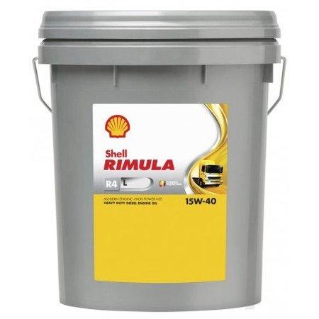 Shell Rimula R4 L 15W-40 - Heavy Duty Engine Oil