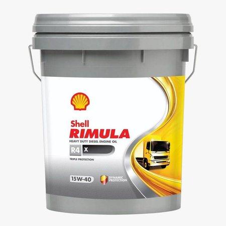 Shell Rimula R4 X 15W-40 - Heavy Duty Engine Oil