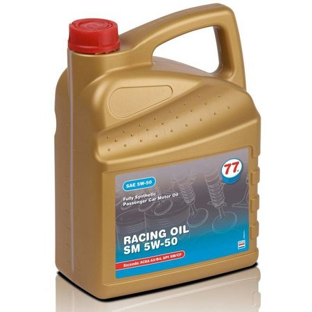 77 Lubricants Racing Oil SM 5W-50