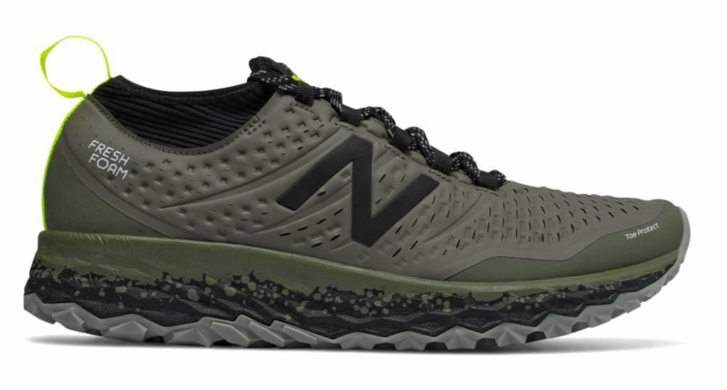 New Balance Fresh Foam Hierro v3 grijs hardloopschoenen heren (614261-60-12)