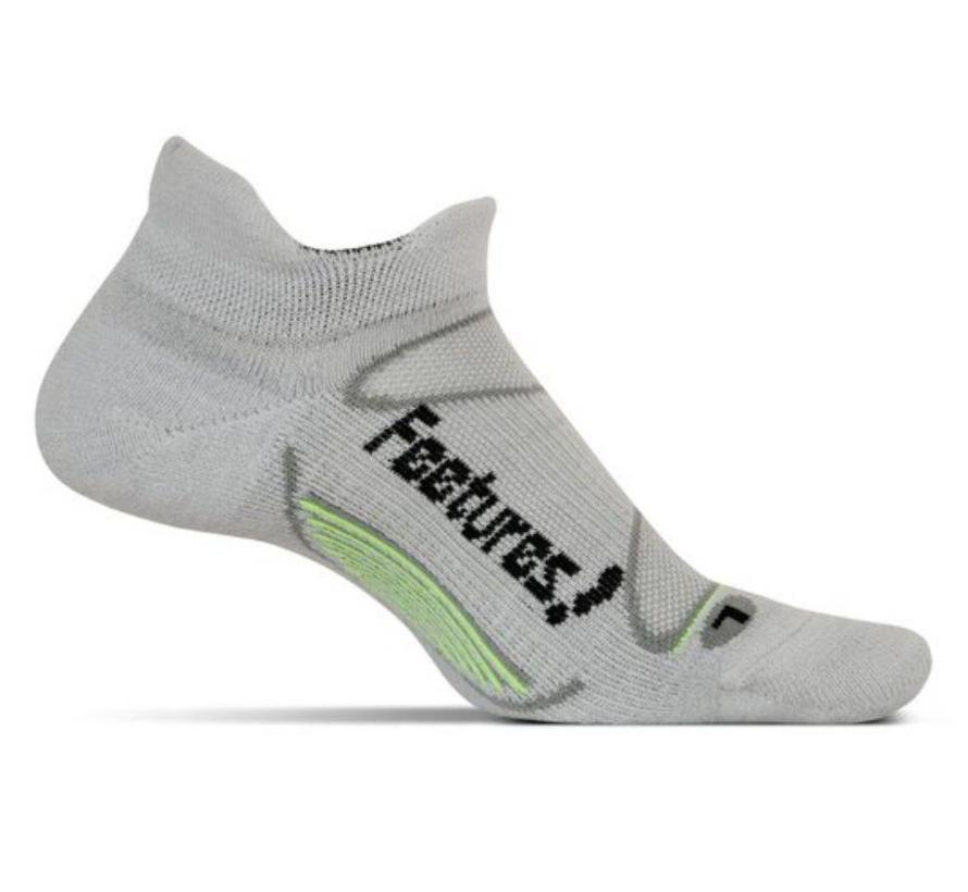 Feetures Elite Merino+ Cushion grijs sportsokken uni