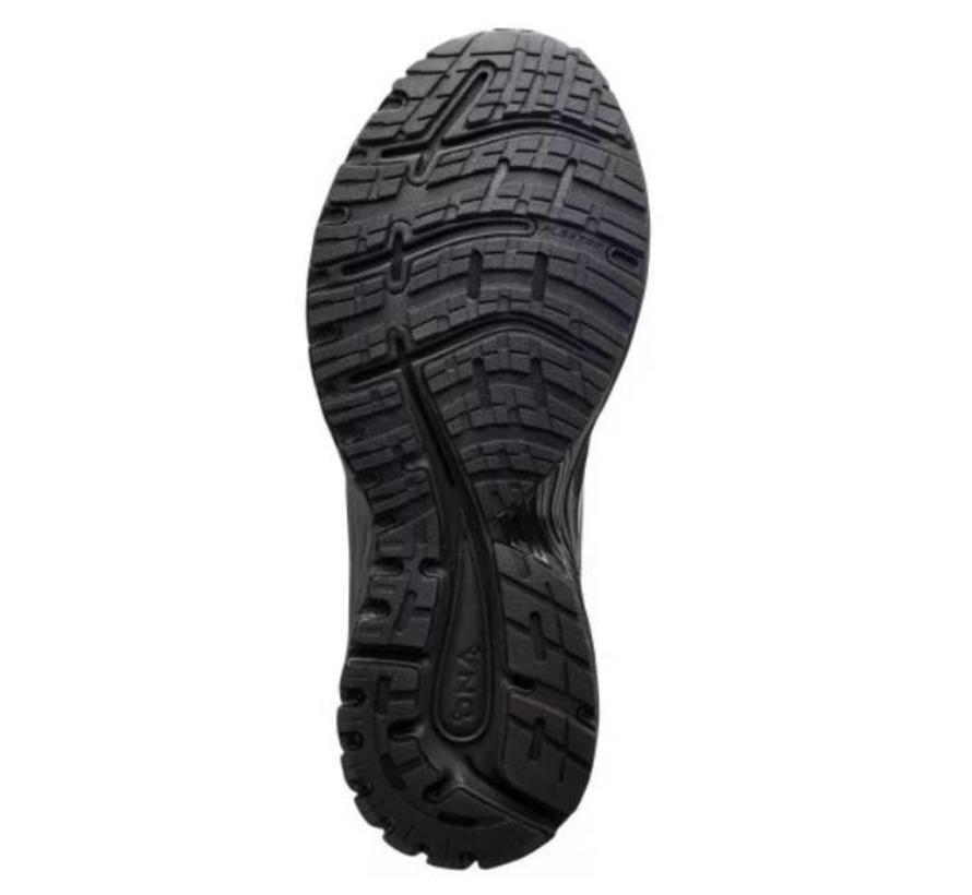 Brooks Adrenaline GTS 18 zwart hardloopschoenen heren
