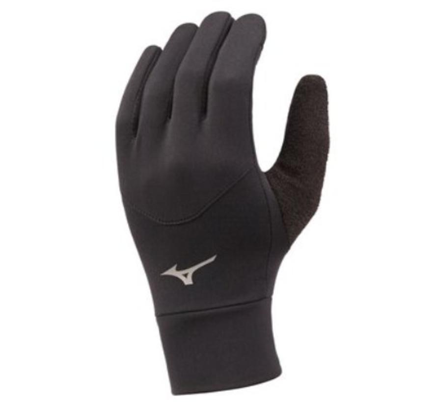 Mizuno Warmalite Glove hardloophandschoenen zwart