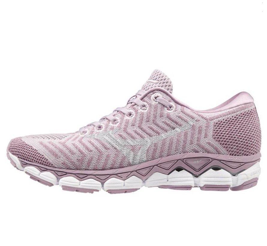Mizuno Waveknit S1 lila hardloopschoenen dames