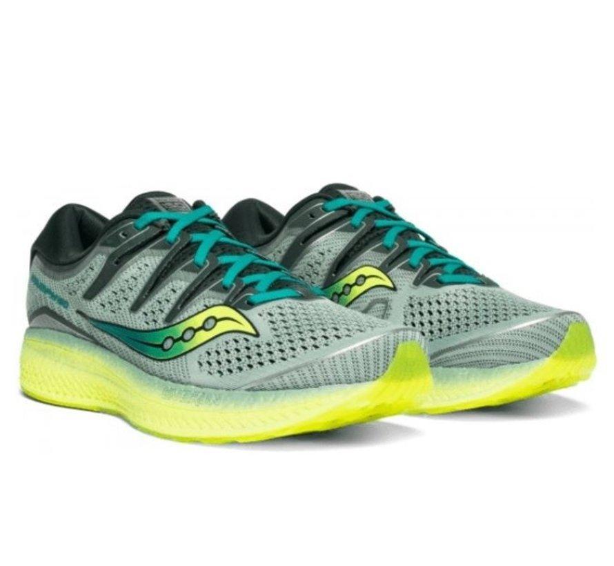 Saucony Triumph ISO 5 grijs hardloopschoenen heren