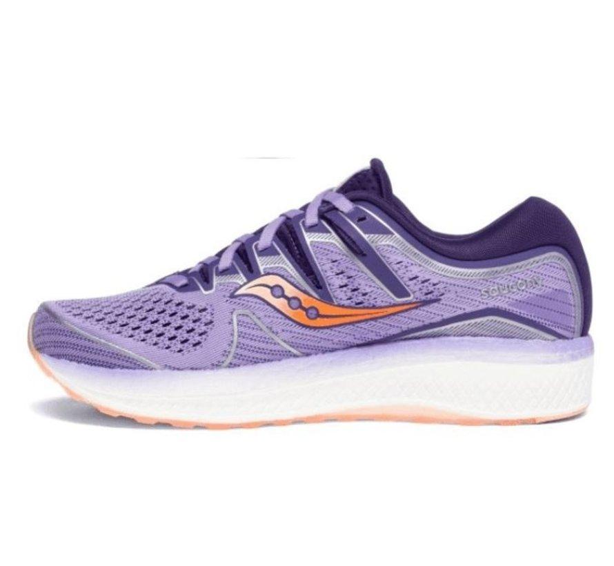 Saucony Triumph ISO 5 paars hardloopschoenen dames
