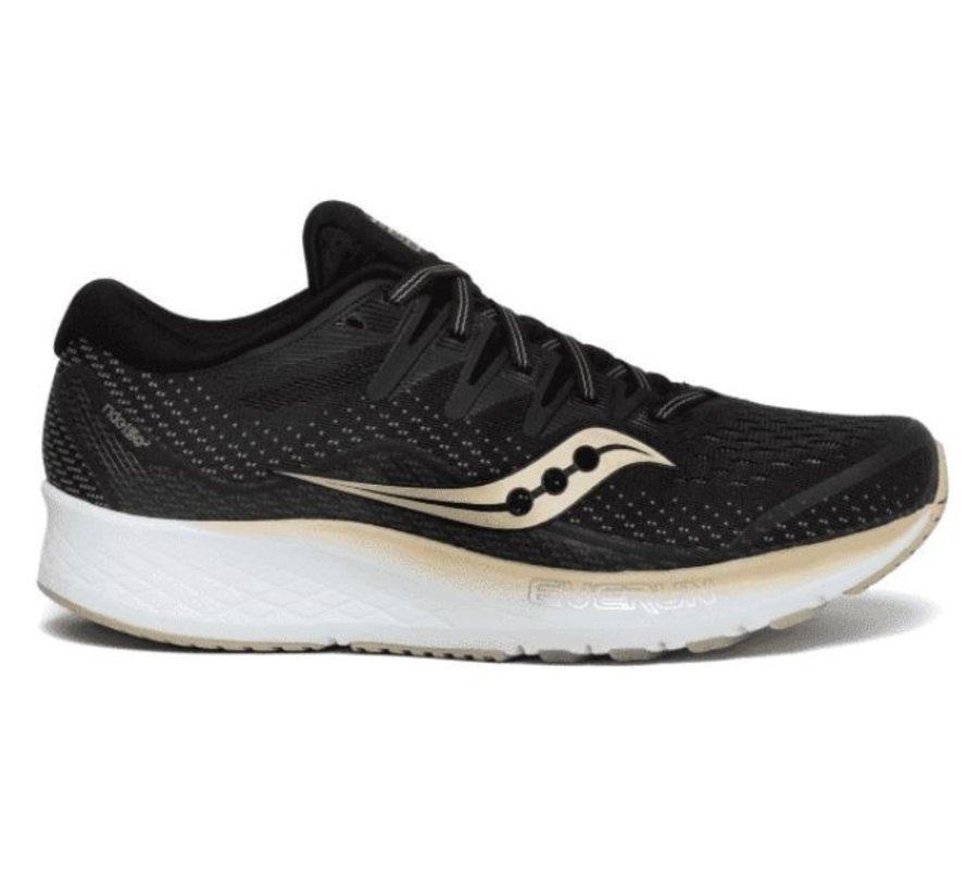Saucony Ride ISO 2 zwart goud hardloopschoenen dames