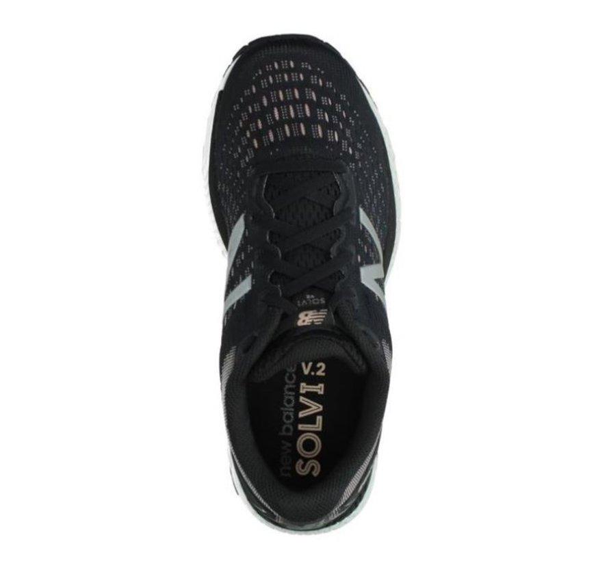 New Balance WSOLVLB2 zwart hardloopschoenen dames