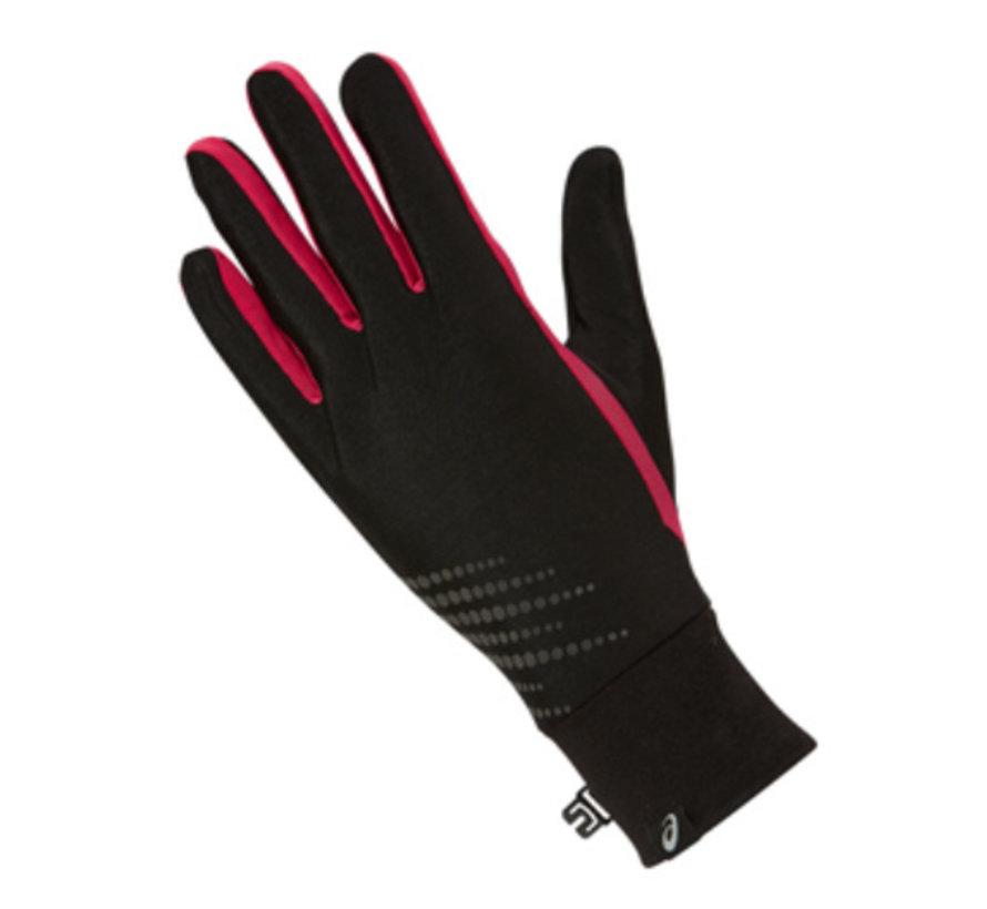 Asics Basic Performance hardloophandschoenen zwart/roze dames