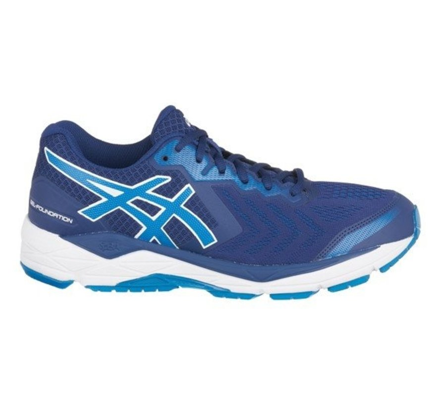 Asics Gel Foundation 13 (2E) blauw  hardloopschoenen heren