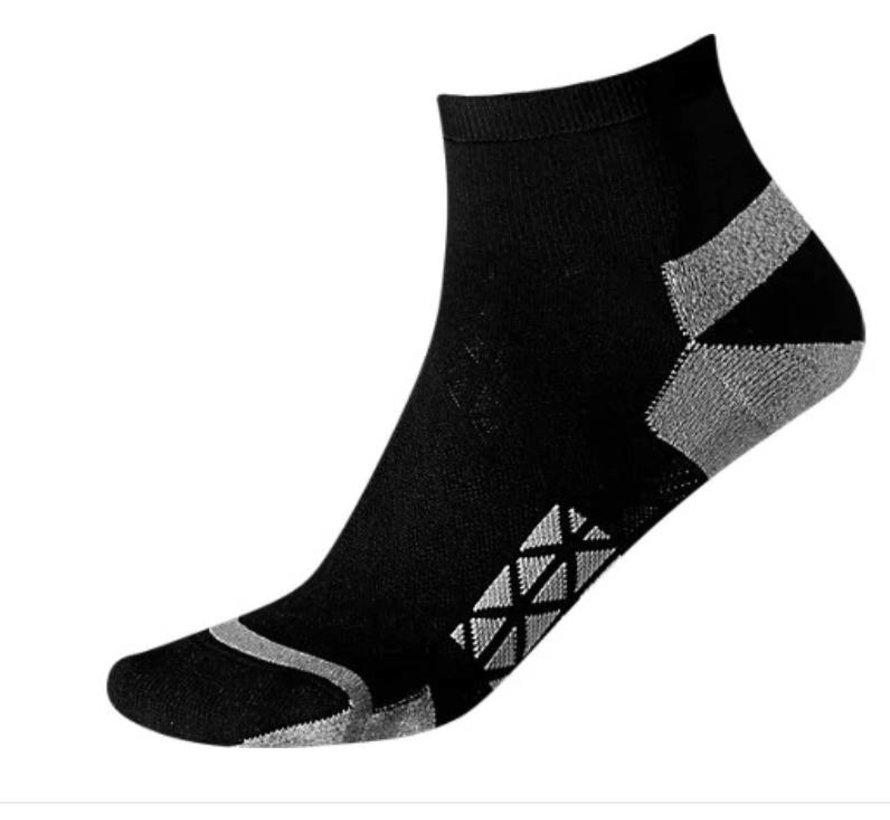 Asics Marathon Racer hardloopsokken zwart grijs  uni