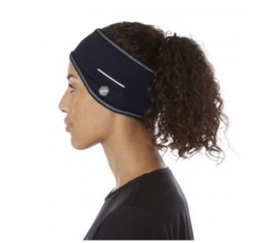 ASICS Ear Cover zwart hardloop hoofdband unisex