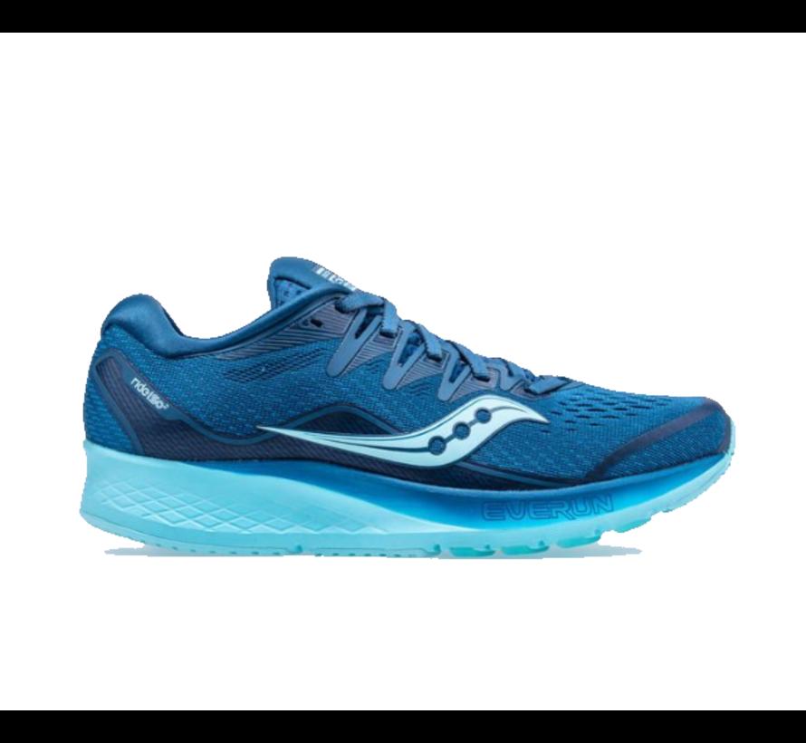 Saucony Ride ISO 2 blauw  hardloopschoenen dames