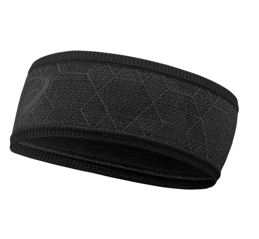ASICS graphic zwart hardloop hoofdband uni