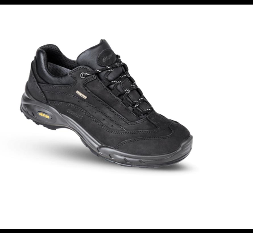Grisport Travel Low zwart wandelschoenen uni