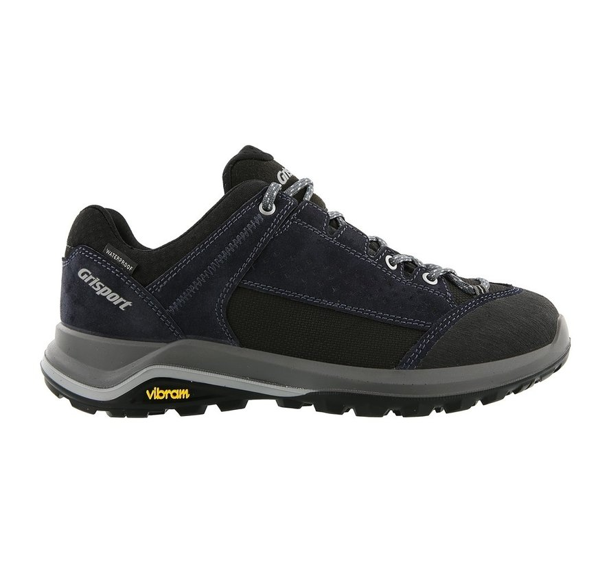 Grisport Siena Low blauw wandelschoenen dames