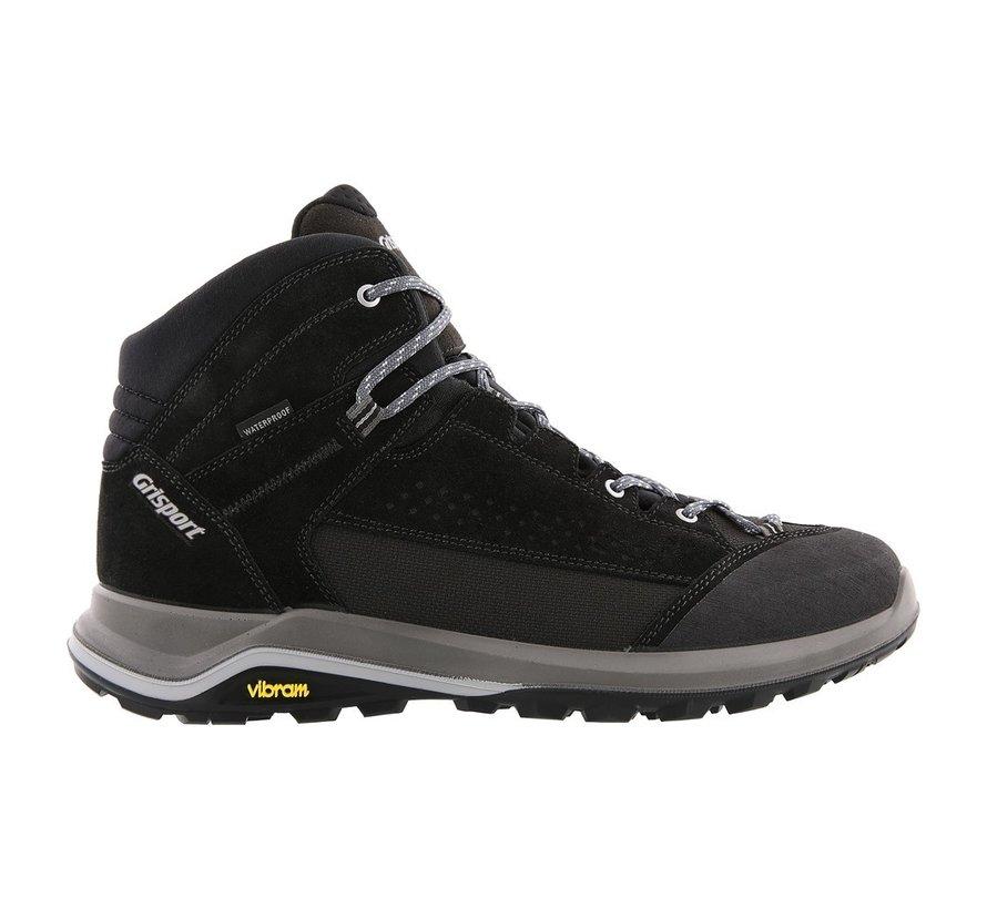 Grisport Siena Mid zwart wandelschoenen heren