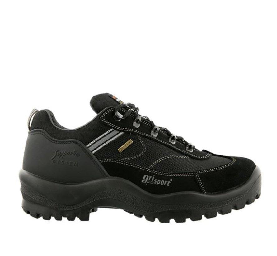 Grisport Torino Low zwart wandelschoenen dames uni