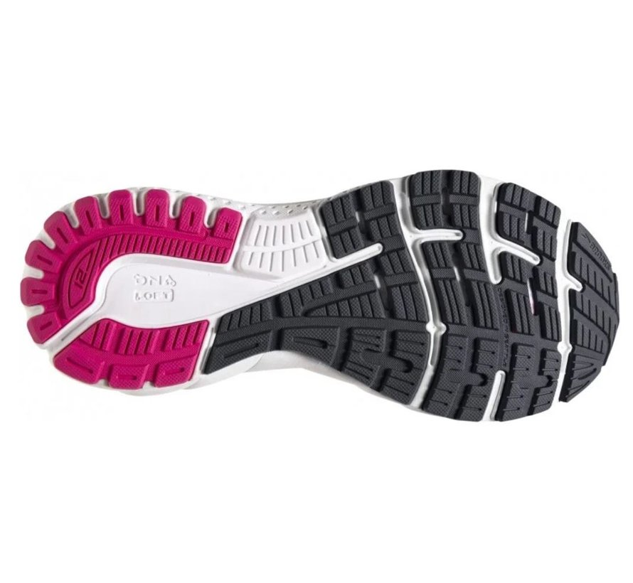 Brooks Adrenaline GTS 21 zwart hardloopschoenen dames