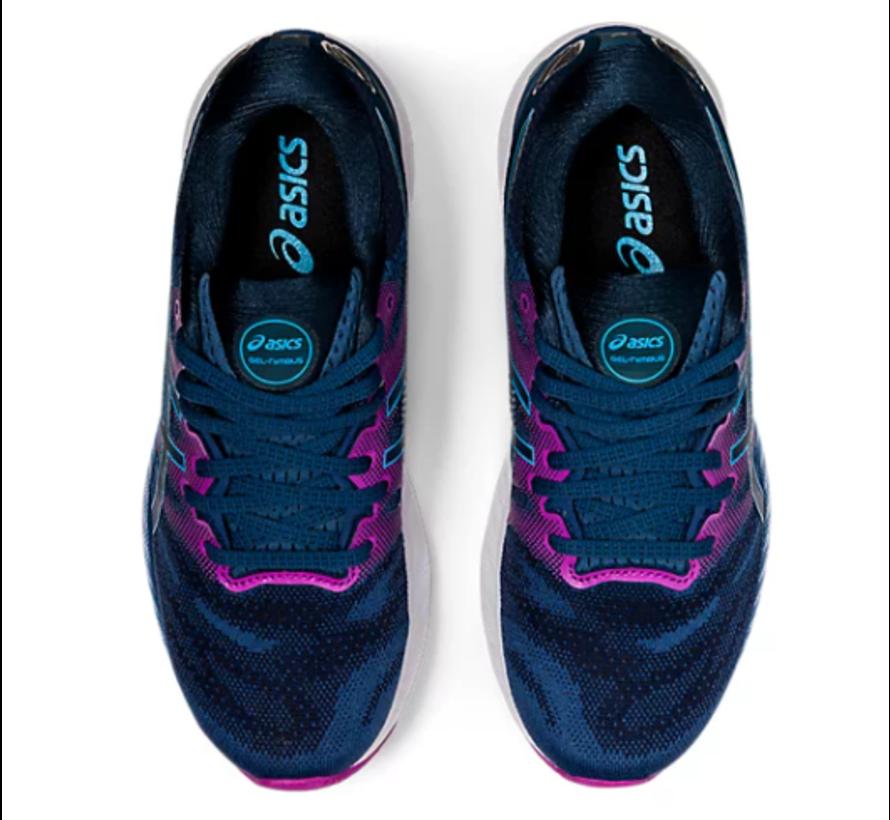 ASICS Gel Nimbus 23 blauw hardloopschoenen dames