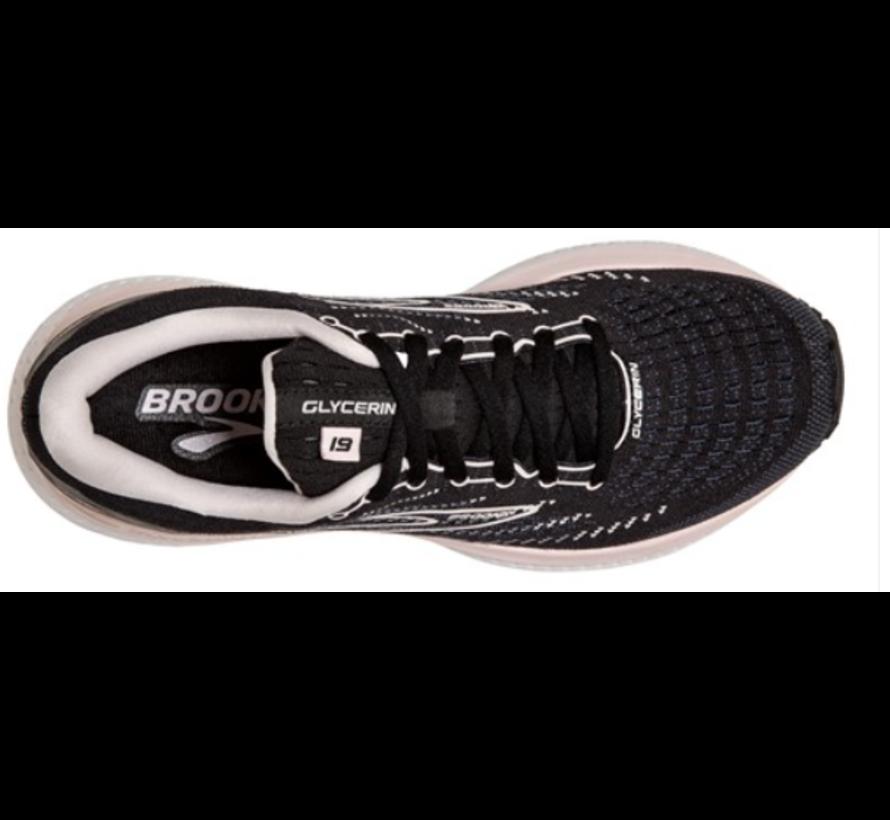 Brooks Glycerin GTS 19 zwart hardloopschoenen dames
